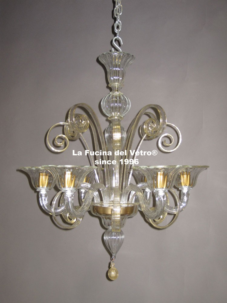 lampadario in vetro di murano pastorale il lampadario nella foto ? ...