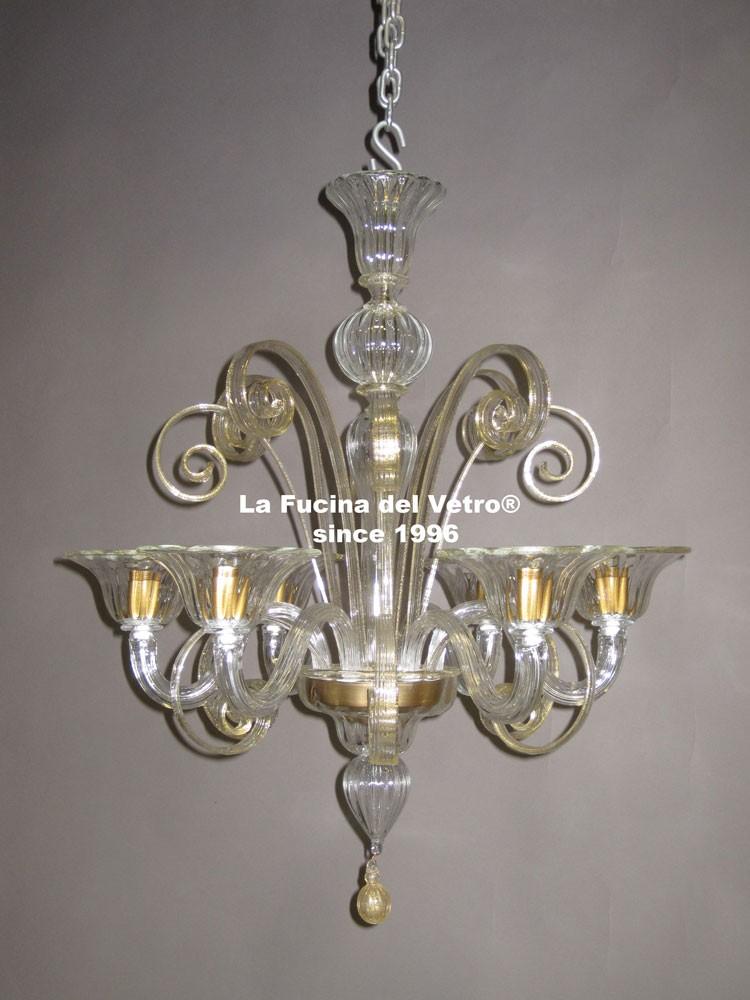 lampadario di murano : Lampadario in Vetro di Murano