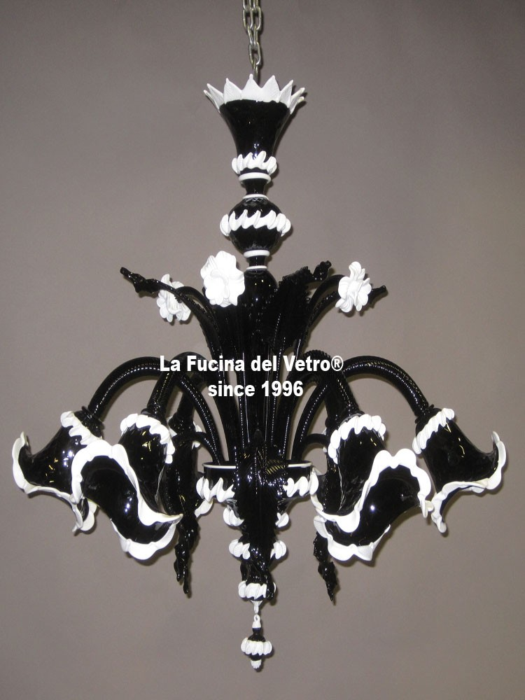 vendita lampadari genova : Lampadario in vetro di Murano