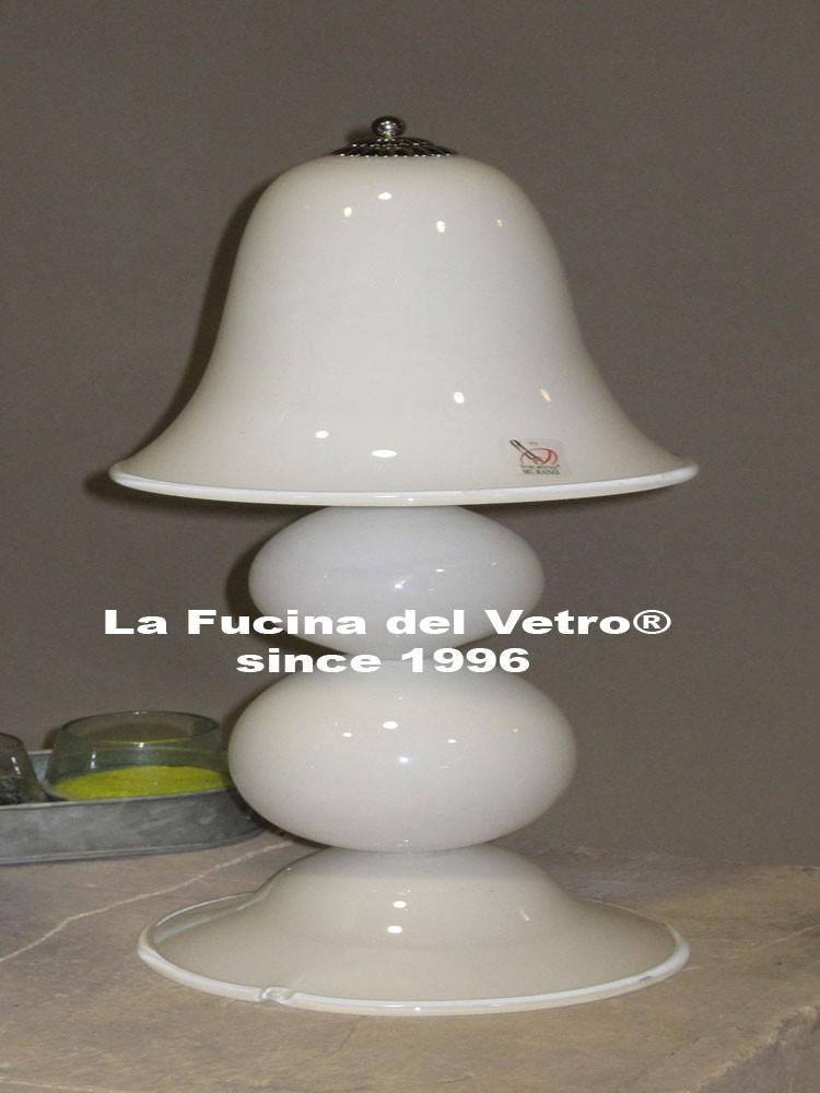Lume da comodino in vetro di murano moderno vendita on for Lumi da comodino