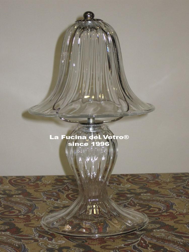 lume da comodino in vetro di murano pastorale vendita