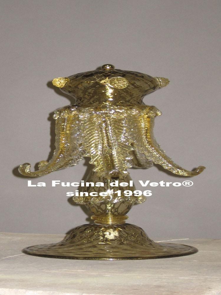 Lume da comodino in vetro di murano secolo vendita on line for Lumetti da comodino